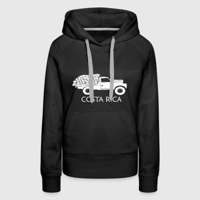 Costa Rica Coffee Truck - Women's Premium Hoodie