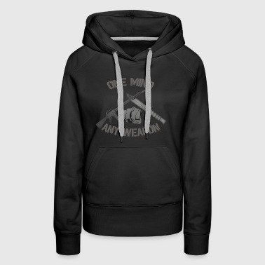 One Mind Any Weapon - Women's Premium Hoodie