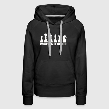 CHESS WEAPONS OF CHOICE - Women's Premium Hoodie