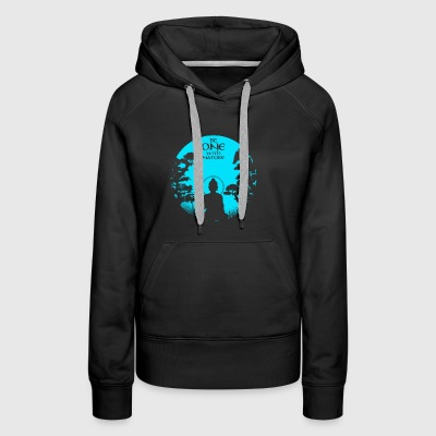 Be One with nature - Women's Premium Hoodie