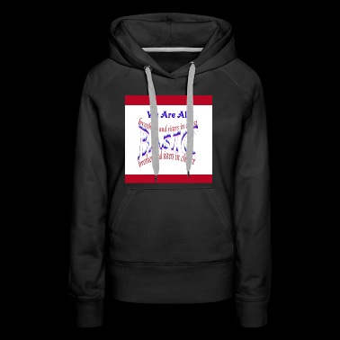 Brothers And Sisters In Christ - Women's Premium Hoodie