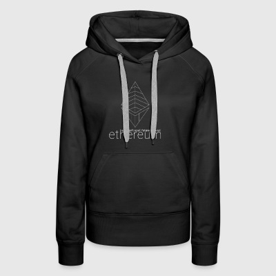 Can't Spell Future Without Ethereum Inverse - Women's Premium Hoodie