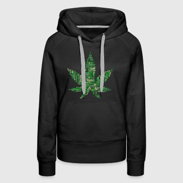 Weed with Words - Women's Premium Hoodie