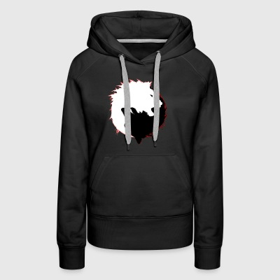 The Wolf and The Lion - Women's Premium Hoodie