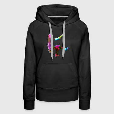 Colorful Climber - Women's Premium Hoodie