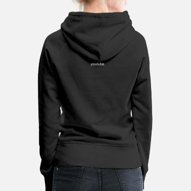 Youtuber Merch youtube logo - Women's Premium Hoodie