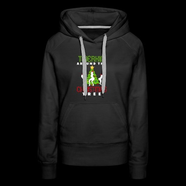 Twerkin' Around the Christmas Tree - Women's Premium Hoodie
