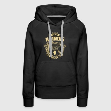 Illinois Woman Shirt - Women's Premium Hoodie