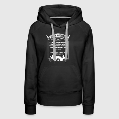 Become A Diesel Mechanic T Shirt - Women's Premium Hoodie
