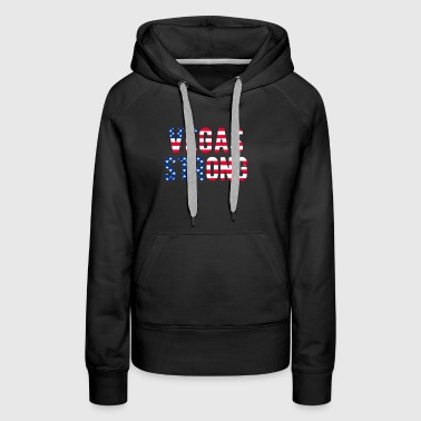 LAS VEGAS STRONG Flag T-Shirt - Women's Premium Hoodie