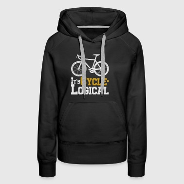 It s cycle logical t-shirts - Women's Premium Hoodie