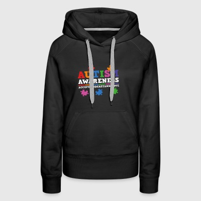 Autism Awareness Accept Understand Love - Women's Premium Hoodie