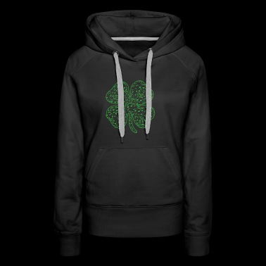 St Patricks Day Music Shamrock T Shirt Gift Music - Women's Premium Hoodie
