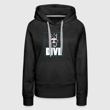 Diving gift idea for divers - Women's Premium Hoodie