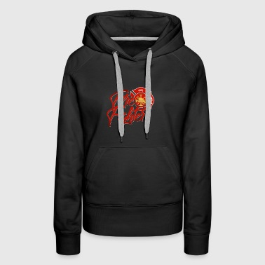 Firefighter gift emergency job life save proud - Women's Premium Hoodie