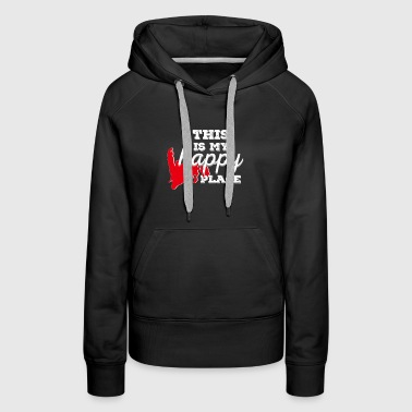 happy place - Women's Premium Hoodie