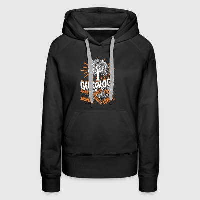 Genealogy Shirt - Women's Premium Hoodie