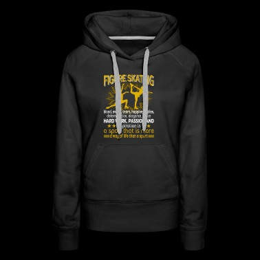 Figure Skating Shirt - Women's Premium Hoodie