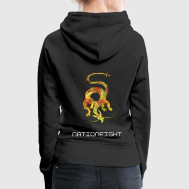 Eastern Dragon - Inferno - Women's Premium Hoodie