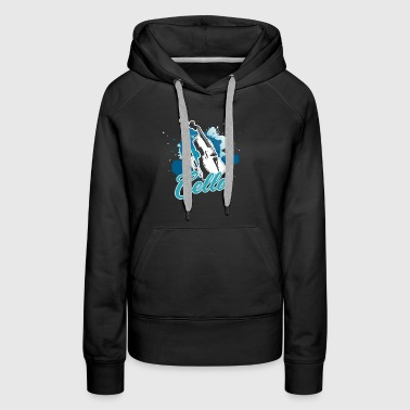 Cello Tee Shirt - Women's Premium Hoodie