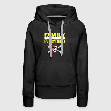 Pirate Lover Family Over Everything - Women's Premium Hoodie