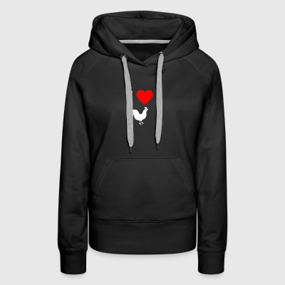Funny T Shirts For Girls I Love - Women's Premium Hoodie