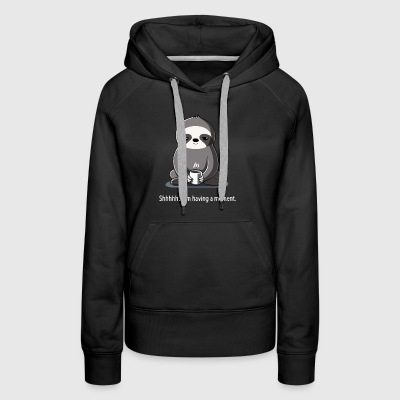 Slow Morning - Women's Premium Hoodie
