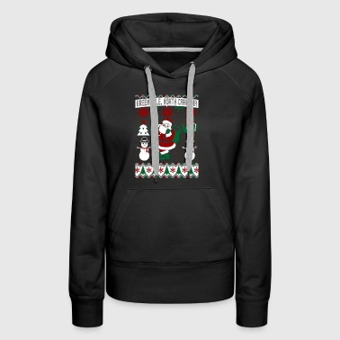Christmas Ugly Sweater Greenville North Carolina - Women's Premium Hoodie