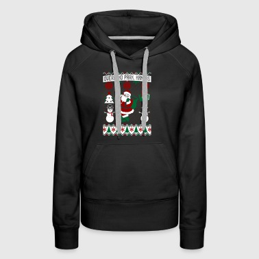 Christmas Ugly Sweater Overland Park Kansas - Women's Premium Hoodie