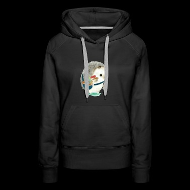 Lovely Hedgehog - Women's Premium Hoodie