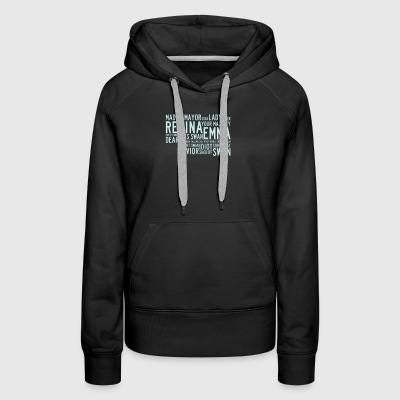 Regina your majesty deputy swan - Women's Premium Hoodie