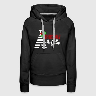 A christmas with tribe - Women's Premium Hoodie
