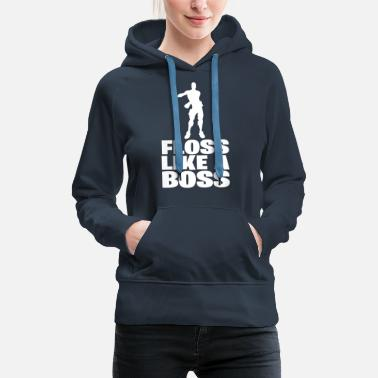 Floss Like a Boss - Women's Premium Hoodie