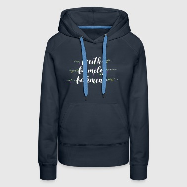 Faith Family Farming Tshi - Women's Premium Hoodie