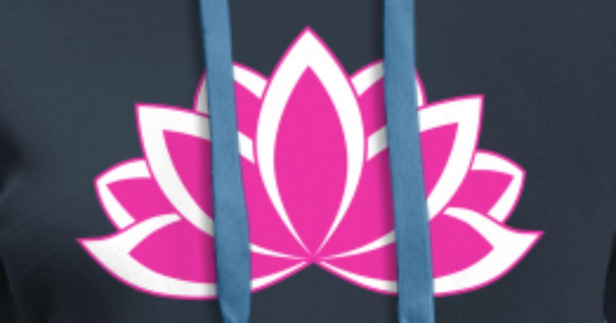 Original pink buddhist symbol lotus flower by dimkadnb spreadshirt mightylinksfo
