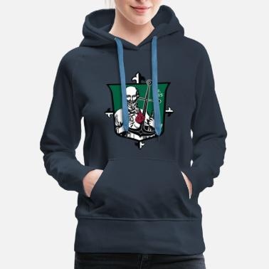 Jude Shrine of St. Jude Shield - Women's Premium Hoodie