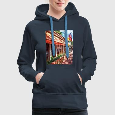 New Hope PA - Outdoor Seating Now Open - Women's Premium Hoodie