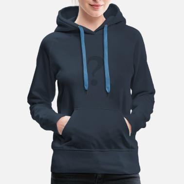Question Mark Question marks and exclamation marks - Women's Premium Hoodie