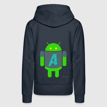 A for Android - Women's Premium Hoodie