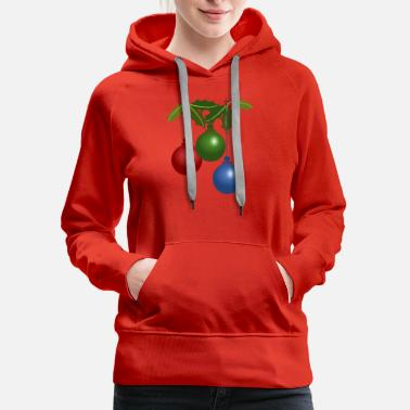 Ornament Christmas Ornament 5 - Women's Premium Hoodie