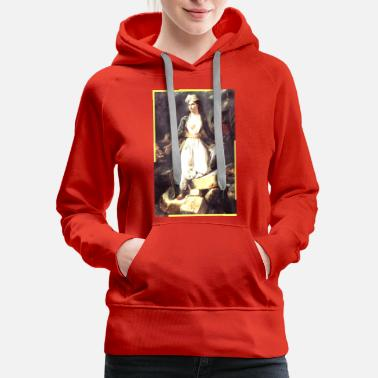 Picture History painting - Women's Premium Hoodie