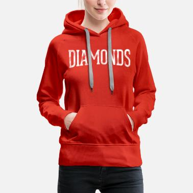 Front & Back Diamonds - Women's Premium Hoodie