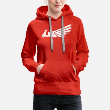 Scooter flight - Women's Premium Hoodie