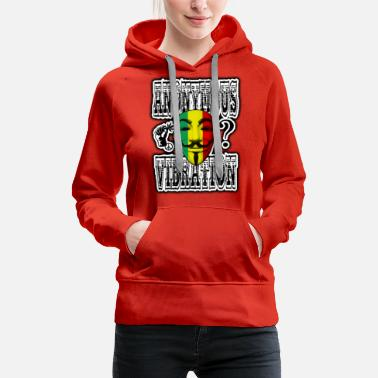 Reggae Anonymous Vibration - Women's Premium Hoodie