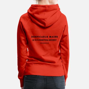 Say NO to Prosecutorial Misconduct BLACK - Women's Premium Hoodie