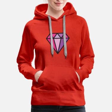 Jewelry Diamond Jewel, gem, jewelry - Women's Premium Hoodie