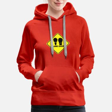 Game Over Game Over - Women's Premium Hoodie