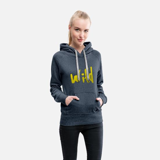 Goodies Hoodies & Sweatshirts - wild - Women's Premium Hoodie heather denim