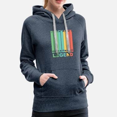 Blackjack Vintage Blackjack Legend Graphic - Women's Premium Hoodie