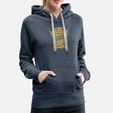 b52bf8fb3 Gun Girl This girl is made of gun powder and lead - Women'. Women's  Premium Hoodie